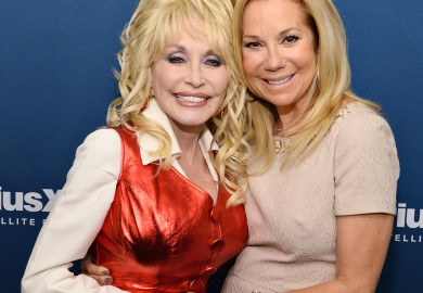 Dolly Parton and Kathie Lee