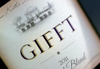 Gifft Wines Bottle
