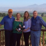 Kathie Lee Gifft Wine at Scheid Vineyard