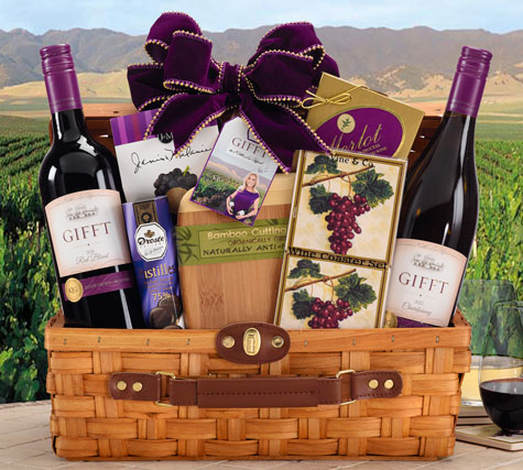 gifft wine basket
