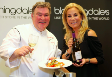 Chef Peter Kelly and me at last year's Wine & Food Fest 2015!